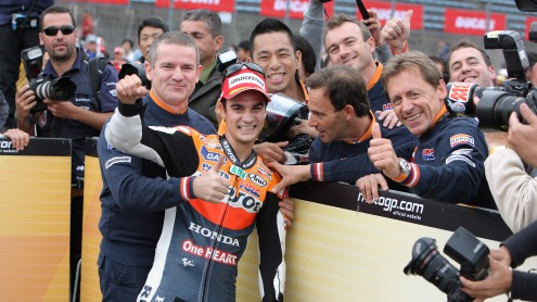 Pedrosa delighted to take victory at Honda's home track