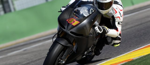 Salom & De Puniet fastest on first day of private test at Valencia