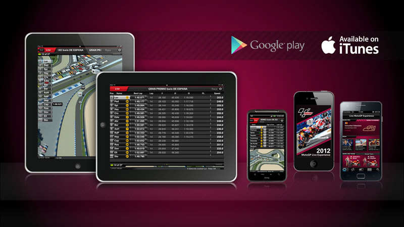 Dorna Sports launch brand new MotoGP™ Live Experience app