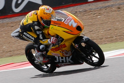 Fifth-placed Vazquez not happy with hard battle in Moto3 race at Silverstone