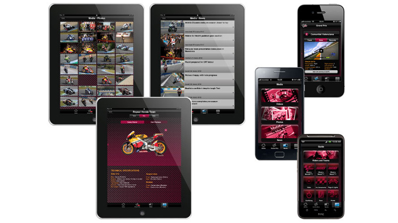 Get the MotoGP Live Experience App for iPhone, iPad & Android