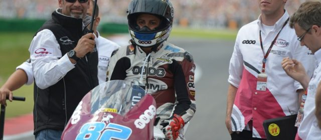 Rosell improves again but looking for more in coming races