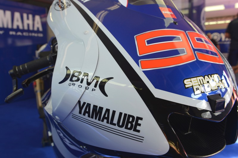 Yamaha Factory Racing adds BM Group as official sponsor until 2014