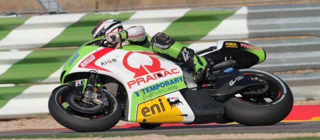 Lack of feeling with the bike leaves Barbera in 12th position