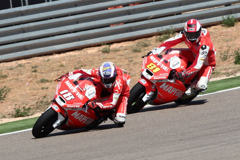 Torres takes best result to date with 8th at Aragon, Terol 13th after slow start