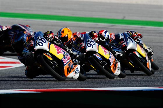 Red Bull Rookies get ready for season finale and last title fight at Aragon