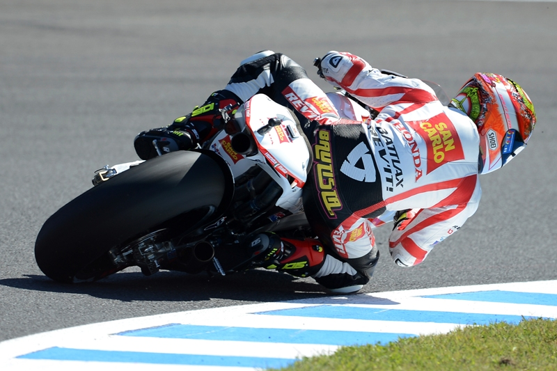 Improved front suspension feeling gives Bautista confidence to push for second row start