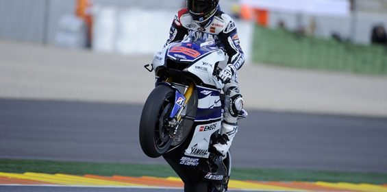 Lorenzo Takes Second in Valencia Qualifying