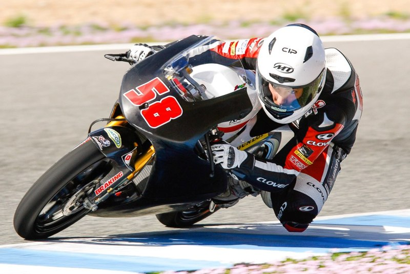 Guevara springs a surprise at Jerez and leads Moto3 rookies in second preseason test