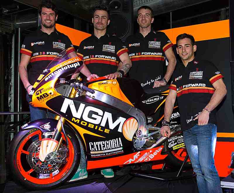 Cardus joins official presentation of Forward Racing Team in Milan