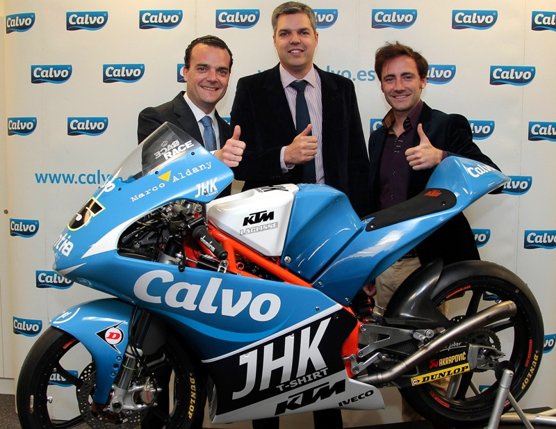 LaGlisse Moto3 Team to compete as Team Calvo with Vinales and Carrasco in 2013 season