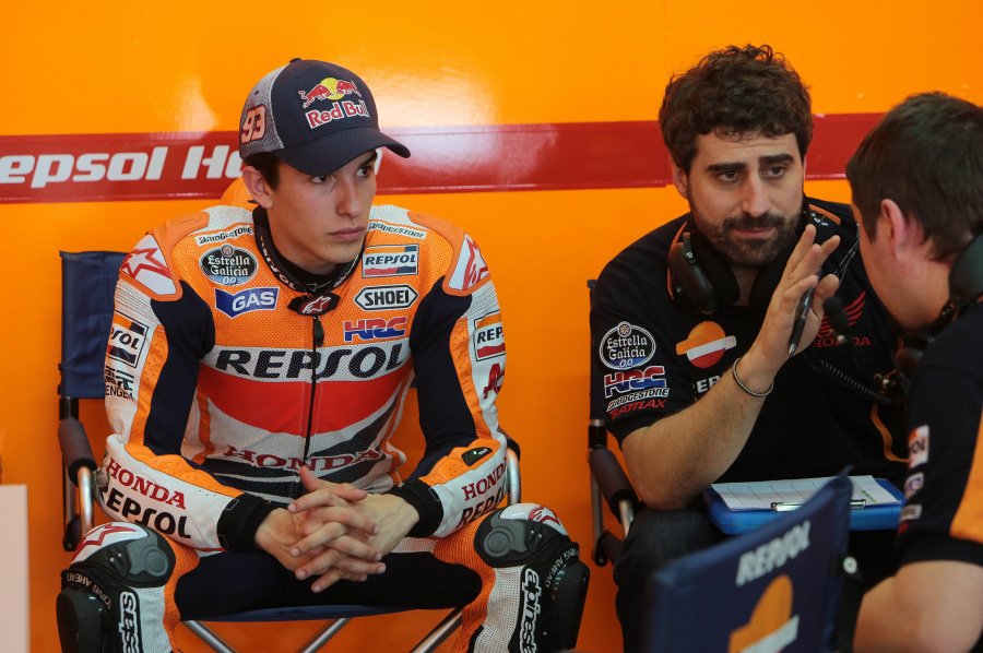 Video: Santi Hernandez on Marc Marquez & the Austin tests