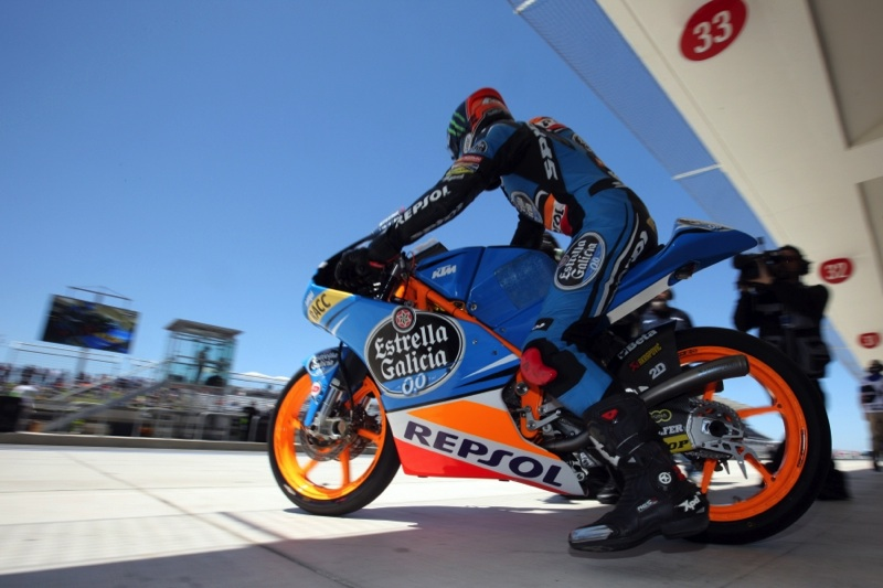 Photos: Alex Rins & Alex Marquez at COTA with Estrella Galicia Moto3 Team