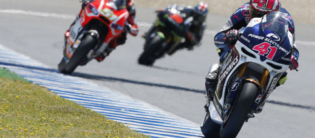 Aleix Espargaro continues to dominate CRT class with excellent 9th