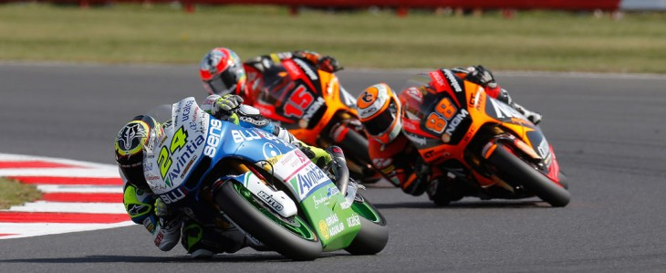 Elias back in the points at British GP, Rivas unfit to race after heavy collision in warmup