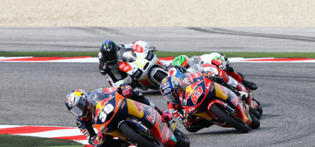 Luis Salom comes home fourth at Misano, maintaining title lead