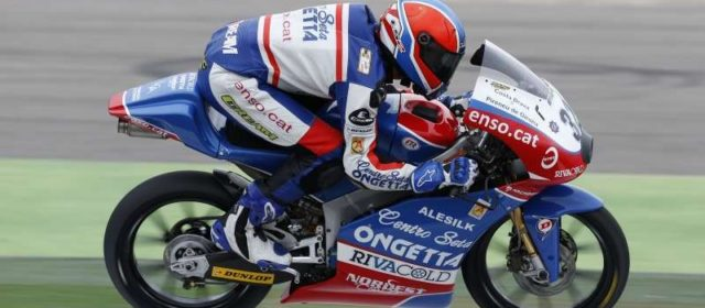 Isaac Vinales eighth and second-fastest Honda rider in Misano qualifying