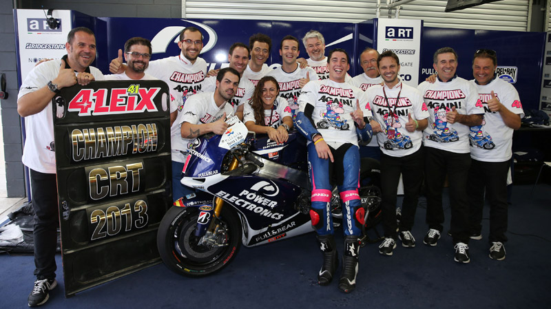 Aleix Espargaro takes 2013 CRT title for second year – and by a huge margin