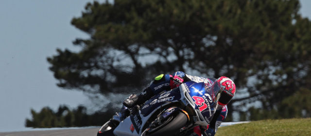 A mix of issues hinder Aleix Espargaro on Phillip Island day one