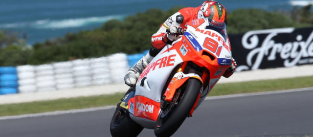 Jordi Torres makes excellent start with 4th on day one at Phillip Island, Nico Terol 11th