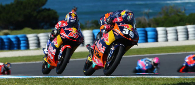 Luis Salom in top five on day one at Phillip Island