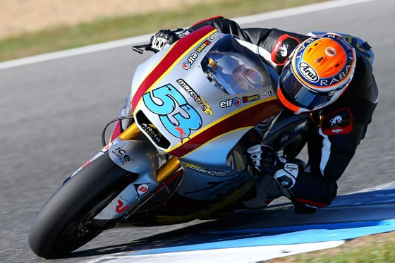 Rabat ready for winter break after strong debut with Marc VDS team
