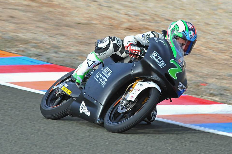 Efren Vazquez completes successful first test with RTG at Almeria
