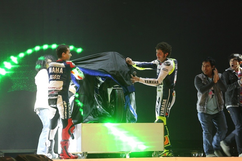 Photos: Yamaha 2014 YZR-M1Launch