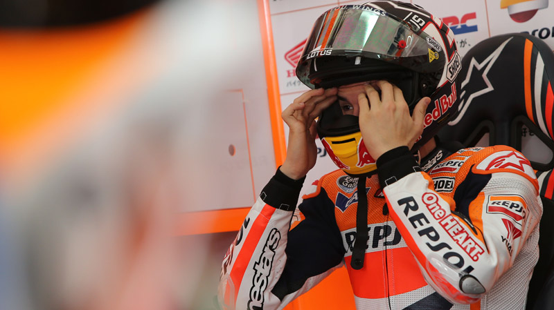 "Marc Marquez interview: ""This year there will be pressure, but I work well under those conditions"""