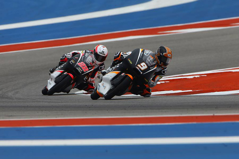 Ana Carrasco battles hard in a great performance at Austin