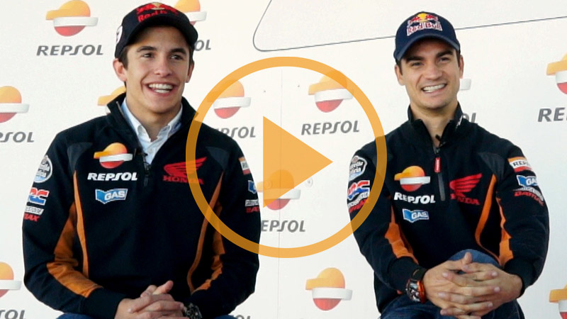 Video: Marc Marquez and Dani Pedrosa review the FIM CEV Repsol's past and present
