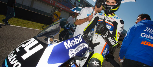 Isaac Viñales and Team Calvo joined by Marcos Ramirez for Jerez GP