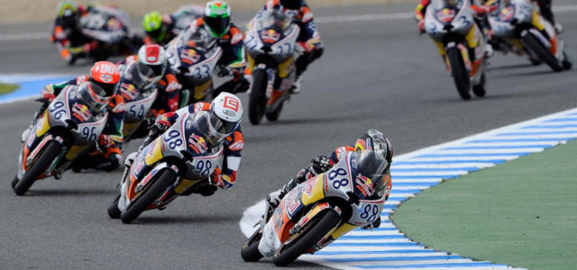 Red Bull Rookies: Martín, Mir and Pagliani to be chased hard in Jerez