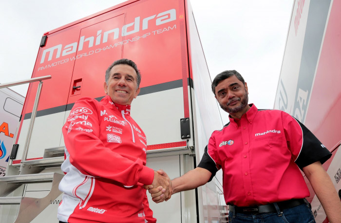 Aspar Moto3 squad joins forces with Mahindra for 2015 season