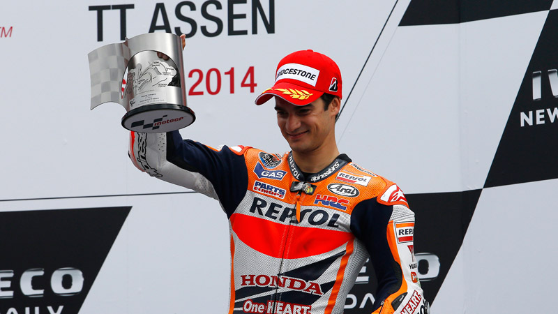 Dani Pedrosa signs with Honda Racing Corporation until 2016