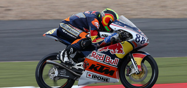 Red Bull Rookies: Martín holds the advantage for Silverstone Pole