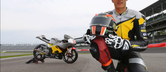 Jorge Navarro makes track debut with Marc VDS at Indianapolis