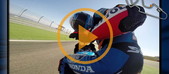 Video: an onboard lap of Aragon with Alex Rins