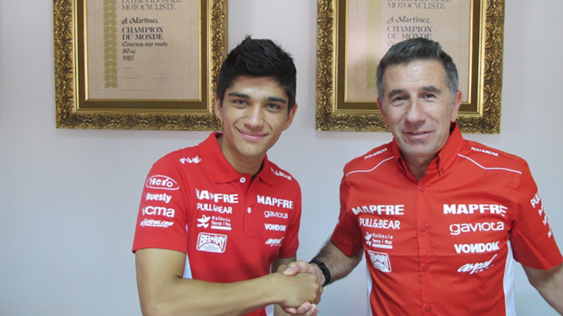 Red Bull Rookies champ Jorge Martin joins Aspar in Moto3 for 2015