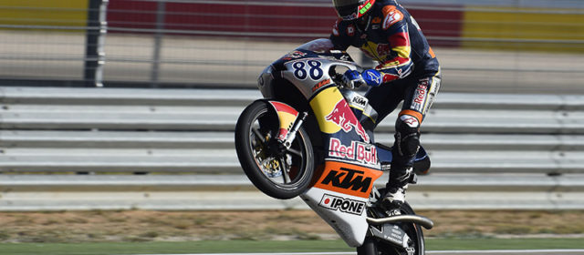 Red Bull Rookies, Aragon – Race 1: Jorge Martin clinches 2014 title