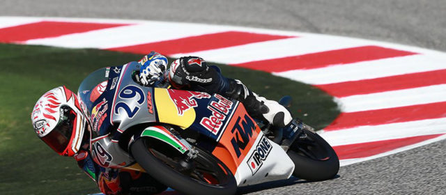 Red Bull Rookies: Misano race report