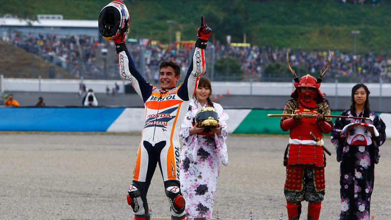 Marc Marquez clinches second World Championship title at Motegi