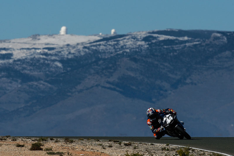 Miguel Oliveira & Red Bull KTM Ajo debut for 2015 in Almeria