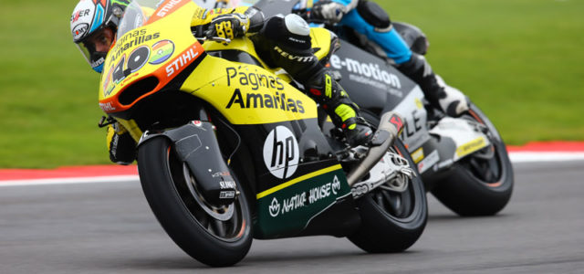 Seventh podium of the season for Alex Rins at Silverstone, Luis Salom 17th
