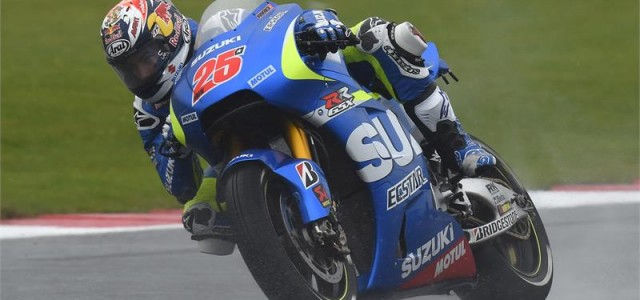 Solid wet race work from Aleix Espargaro and Maverick Viñales at Silverstone