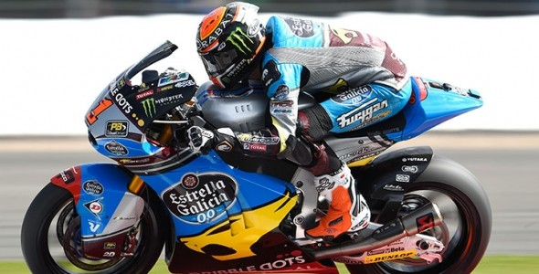 Battered & bruised Tito Rabat 4th on Silverstone grid, Alex Marquez 9th