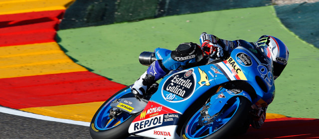 Jorge Navarro qualifies 5th at Aragon, Maria Herrera 27th