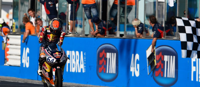 Red Bull Rookies: Bendsneyder wins race and clinches Cup in Misano