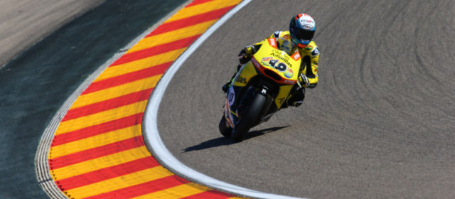 Alex Rins looking for his second victory from the front row at Aragon