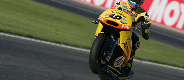 Front row start at Valencia for Alex Rins, 12th for Luis Salom